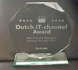 Award voor Cloud & Managed Services