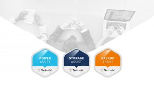 managed services, power assist, storage assist, backup assist, tectrade