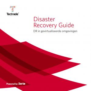 Disaster Recovery Guide, DR in gevirtualiseerde omgevingen